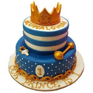 Royal Prince Fondant Cake