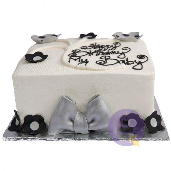 Square Buttercream Cakes