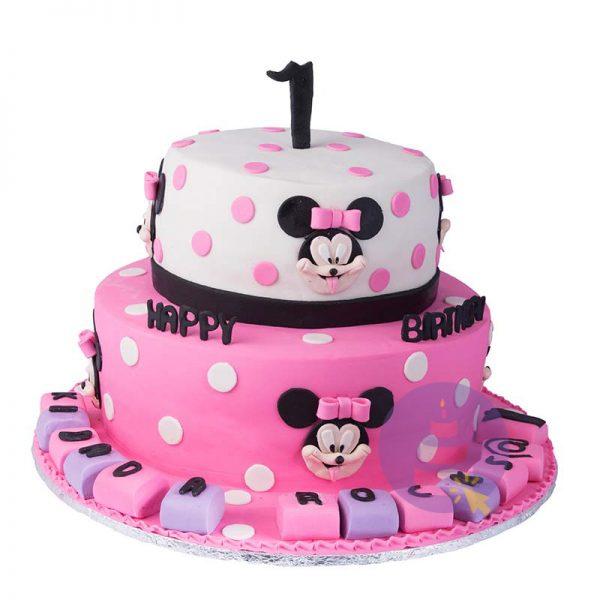 Naughty Minnie Mouse Cake