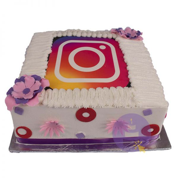 Buttercream Instagram Cake