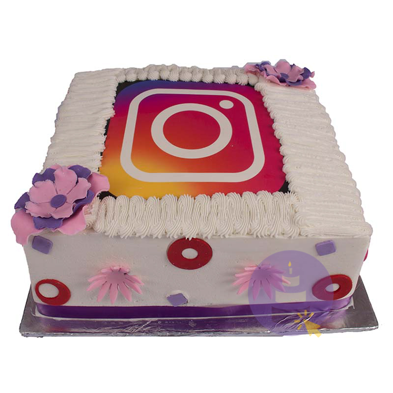 Buttercream Instagram Cake