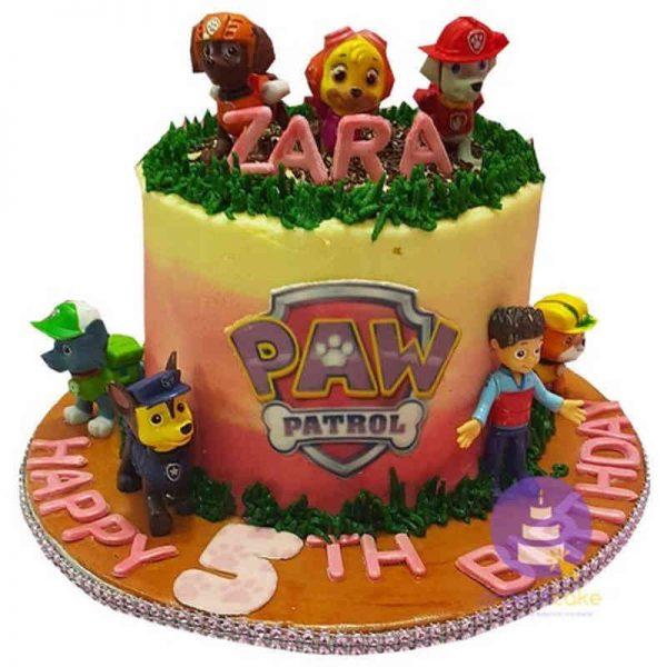 Paw Patrol Buttercream Cake