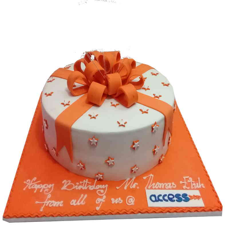 Gift bow fondant cake order all the best cakes online in abuja gift bow fondant cake negle Image collections
