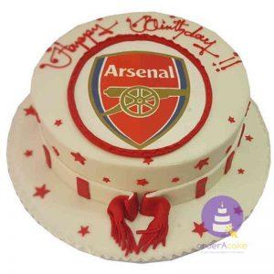 Arsenal Muffler Cake