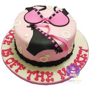 Bikini Bridal Shower Cake