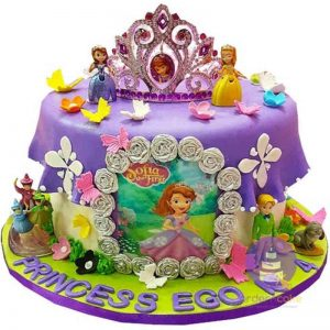 Princess Sofia Royal Cake