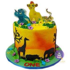 Lion Guard Buttercream Cake