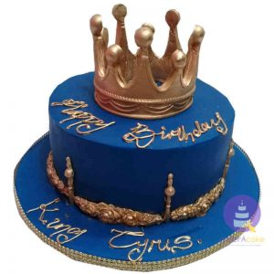 Kings Crown Fondant Cake