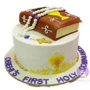 Holy Communion Bible Cake