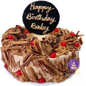 Triple Choco Buttercream Cake