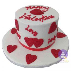 Valentine Lips Cake