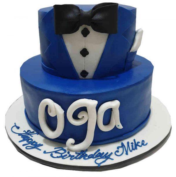 Boss Fondant Cake