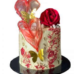 Luxury Valentine Cake